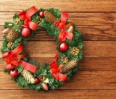 Как сделать рождественский венок своими руками пошагово: фото, видео и инструкции