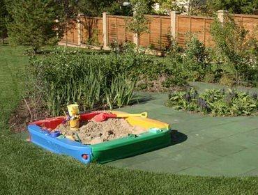 Сад: детская территория