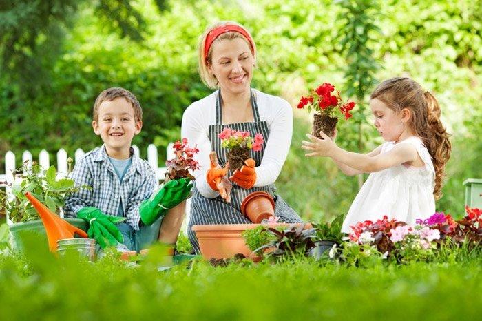 Садоводство с детьми. Несколько советов родителям.