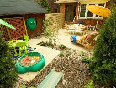 Детская площадка своими руками на даче – советы по устройству и оборудованию