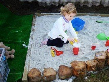 Песочница своими руками – делаем сами детскую песочницу