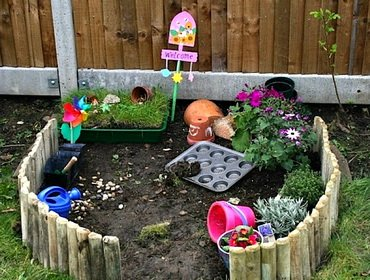 Мой детский дачный огород