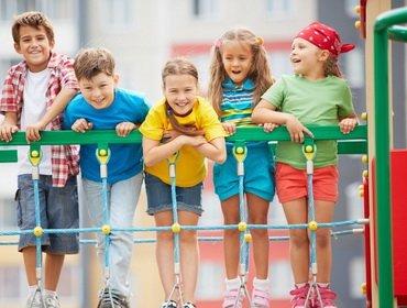 Общение на детской площадке