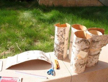 Поделки для дачи из природного материала