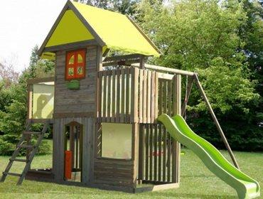 Строим игровой домик для детей. Фото игровых детских домиков