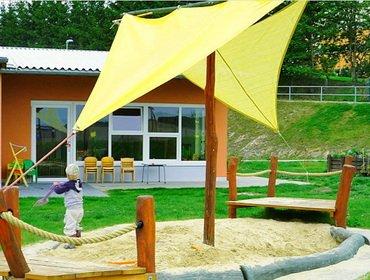Как сделать песочницу своими руками на загородном участке