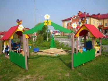 Как произвести оформление участка детского сада летом