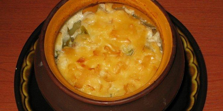Как приготовить овощи в горшочках  в духовке (рецепты с фото) фото
