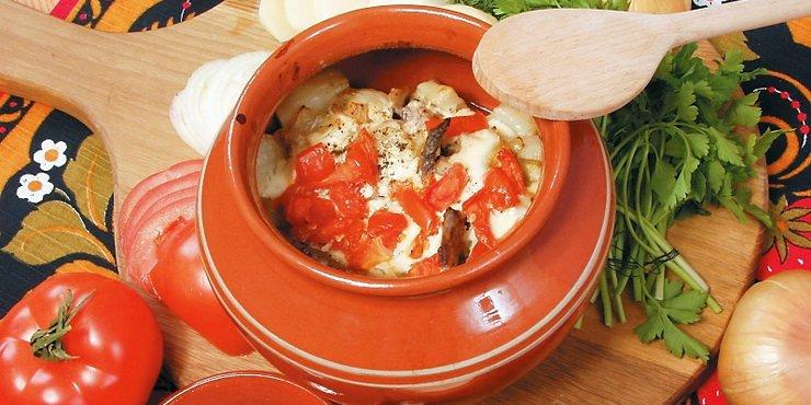 Предлагаемые повседневные блюда в горшочках с овощами могут стать отменным гарниром на ужин и обед.