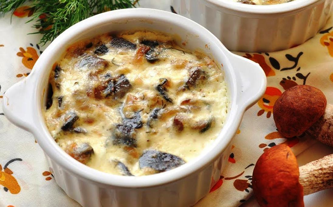 Рецепты блюд с грибами в горшочках в духовке