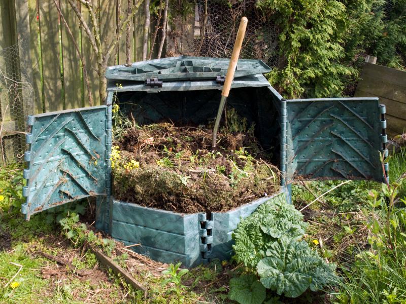 Правильный ящик для компоста и его фото фото