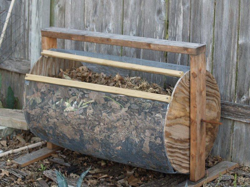 Изготовление компостного ящика своими руками: как сделать из дерева и шифера (с фото)