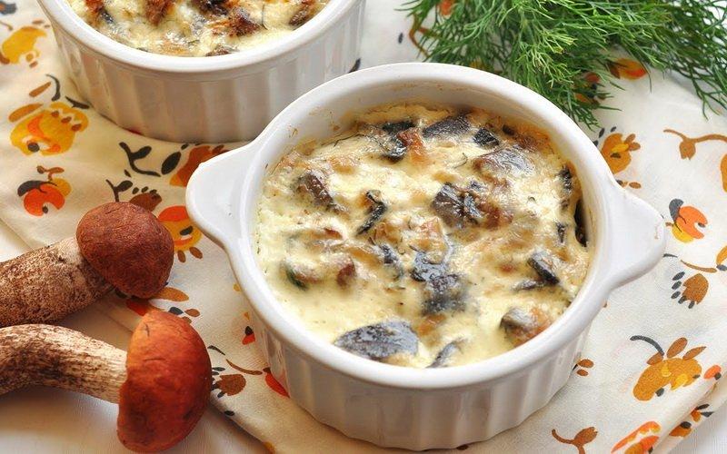 Рецепт жульена с грибами курицей и сыром пошагово