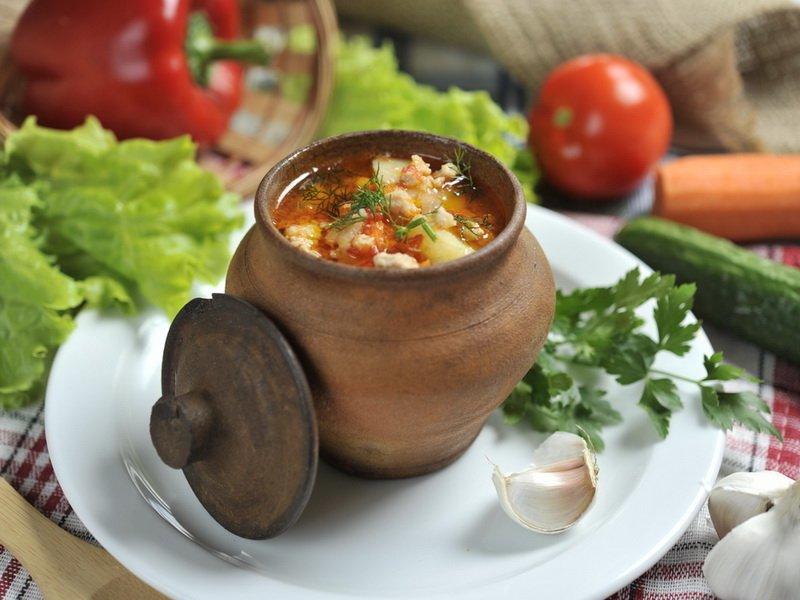 Суп по-деревенски