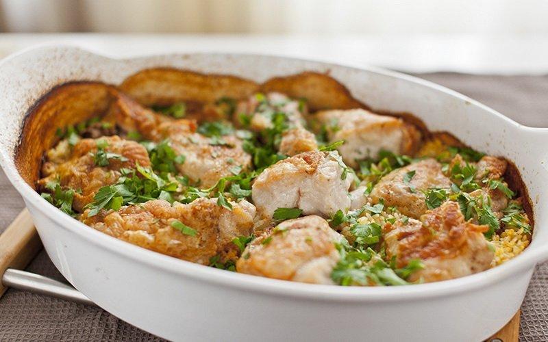 что приготовить из курицы в духовке рецепты с фото