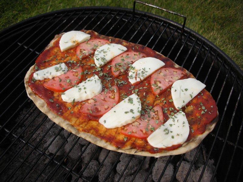 Круглая решетка для пиццы
