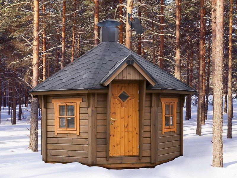Финский домик гриль
