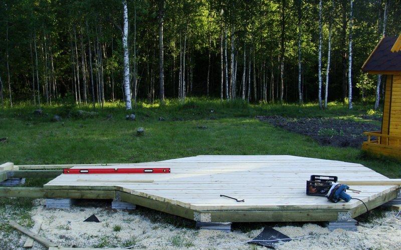 Каркасные беседки для дачи из дерева своими руками пошагово (с фото) фото