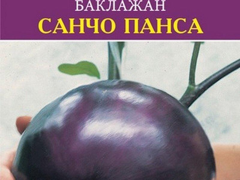 Семена баклажана «Санчо Панса» на фото