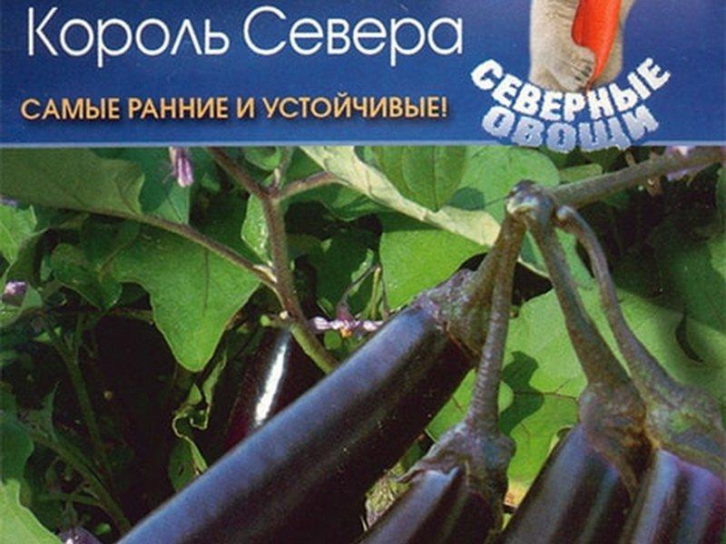 Семена баклажана «Король Севера» F1 на фото