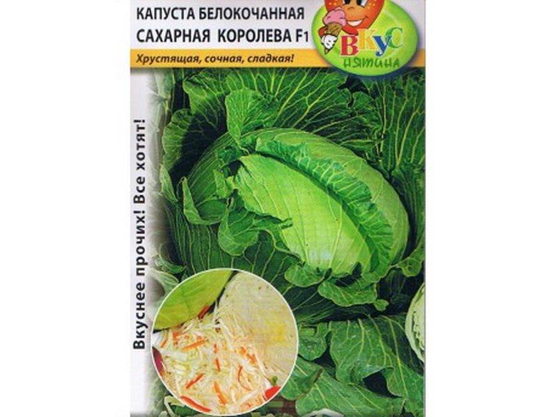 Семена белокочанной капусты «Сахарная королева» F1 на фото