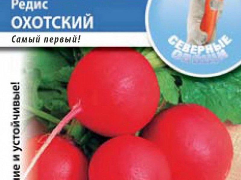 Семена редиса «Охотский» на фото