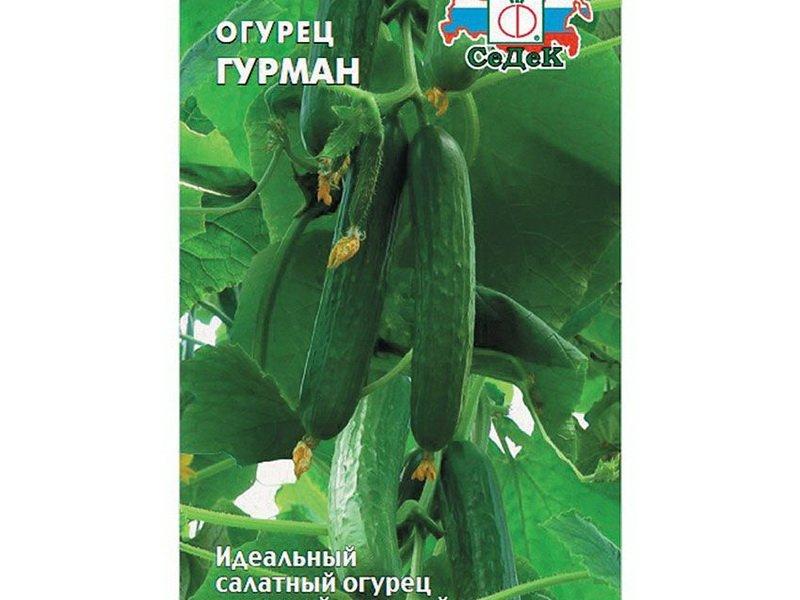 Семена огурца «Гурман» на фото