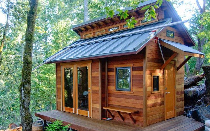 Из чего построить кухню на даче своими руками 19