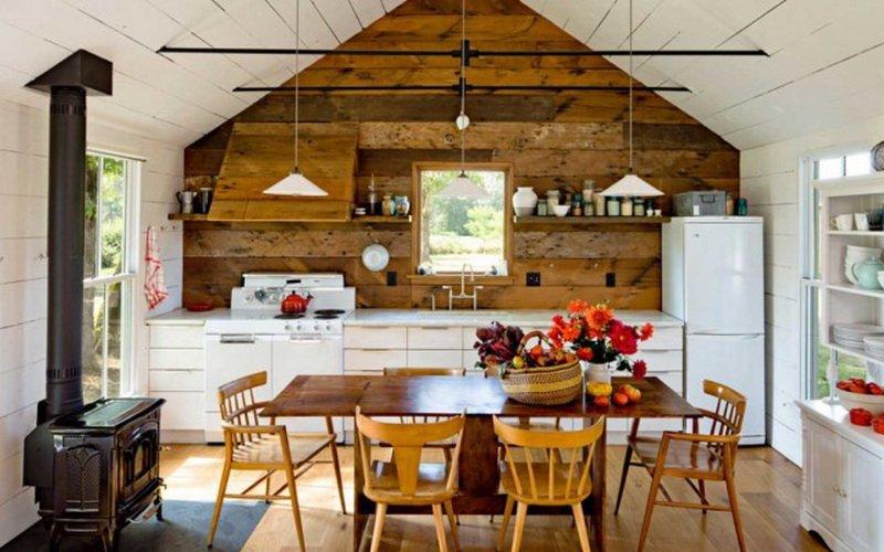 Внутренняя отделка летней кухни (фото внутри и снаружи)