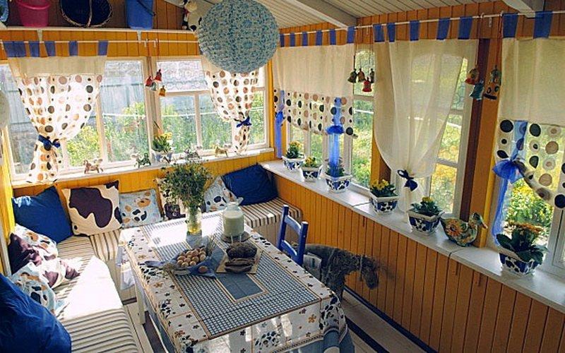 Дизайн летней кухни в частном доме на фото