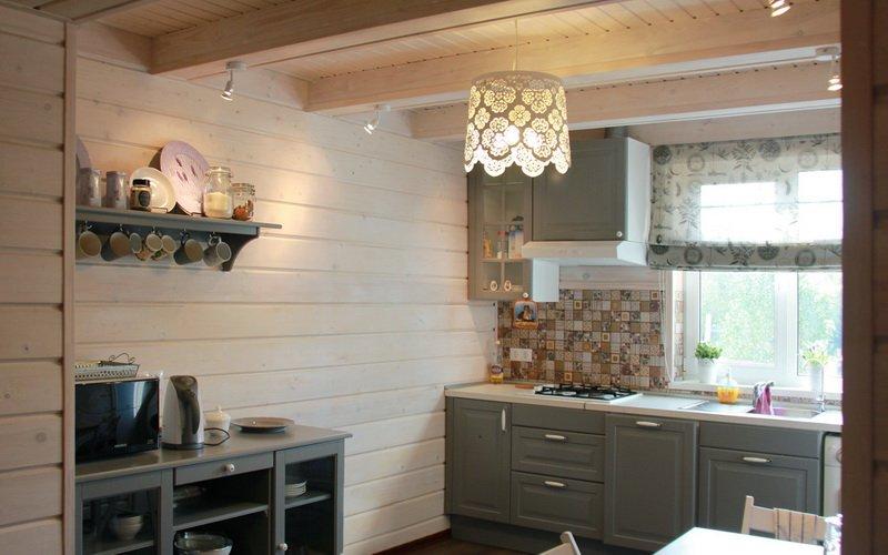 Дизайн кухни на дачном участке (фото)