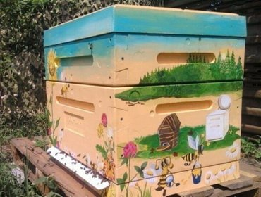 Ульи для пчел из пенополистирола своими руками фото 667