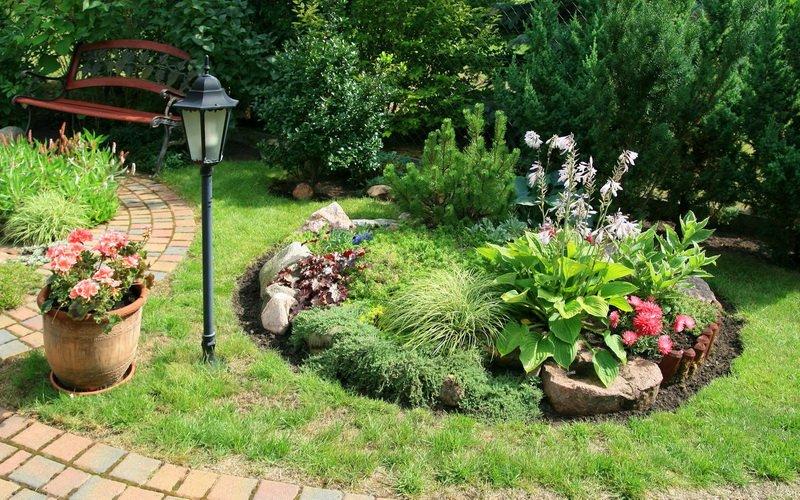Типы каменистых садов