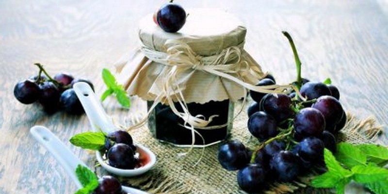Простые рецепты варенья и джема из винограда на зиму фото
