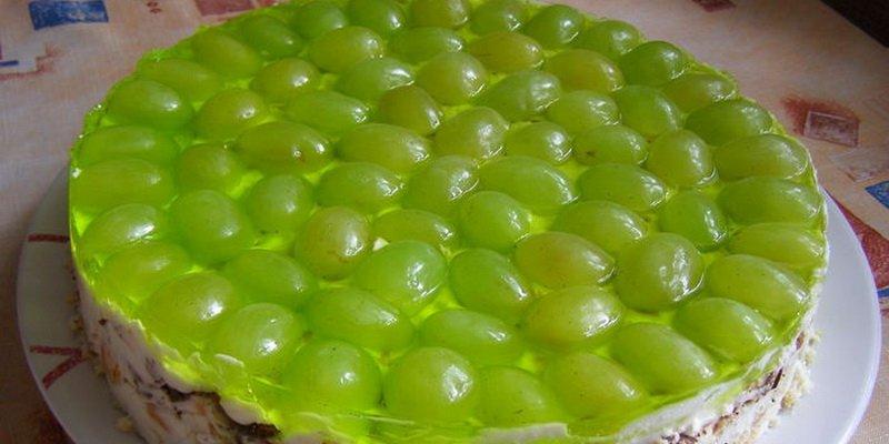 Торт и десерты из винограда: рецепты с фото