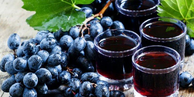Готовим сок и компот из винограда на зиму: домашние рецепты
