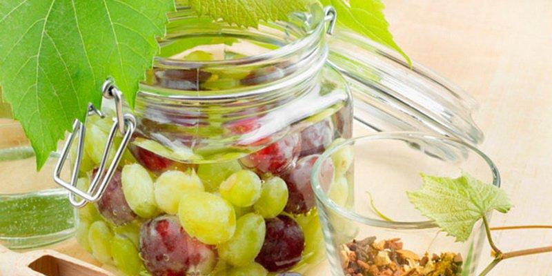 Как мариновать виноград «под оливки»