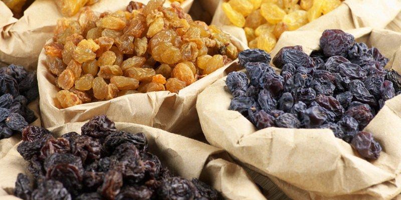 Рецепт сухого винограда в домашних условиях