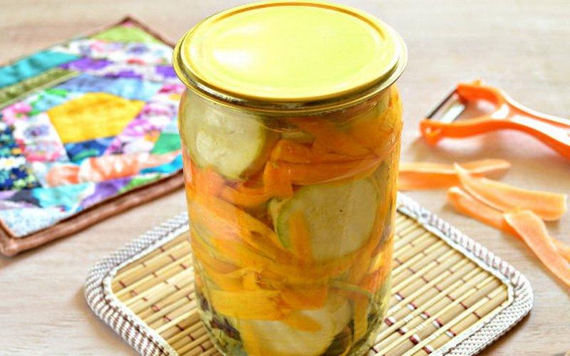Вкусные маринованные кабачки на зиму: рецепты закусок