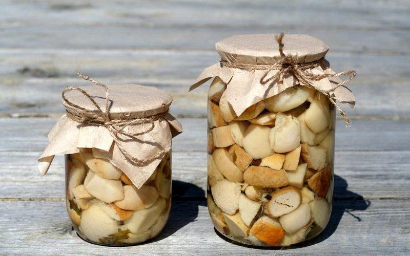 Вкусные грибы, маринованные в домашних условиях