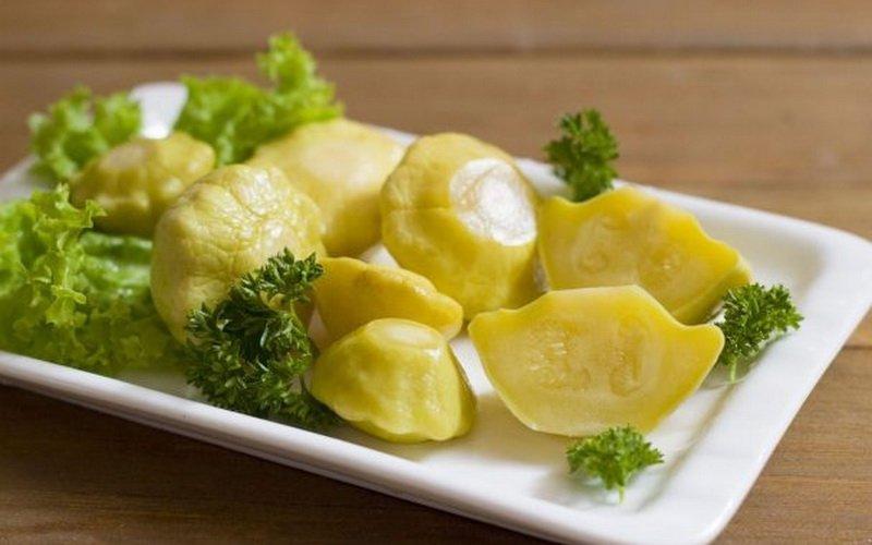 Вкусные маринованные патиссоны: рецепты с фото фото