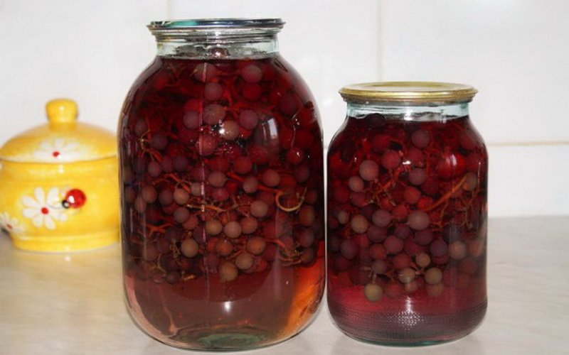 Компоты из фруктов и ягод на зиму: простые рецепты фото