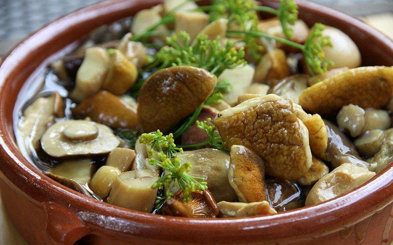 Рецепт заготовки белых грибов на зиму
