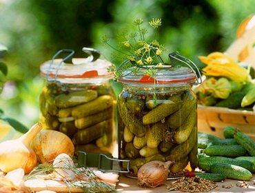 Рецепты солёных и консервированных огурцов