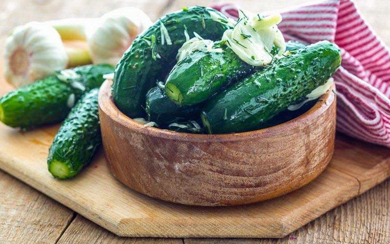 Рецепты приготовления быстрых малосольных огурцов