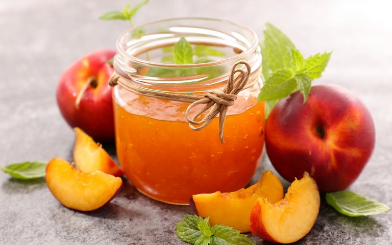 Как приготовить варенье и джем из персиков на зиму: рецепты с фото