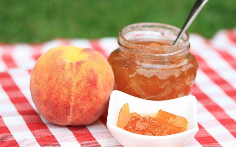 Персиковый джем.