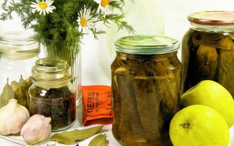 Простые рецепты огурцов, маринованных на зиму с уксусом фото