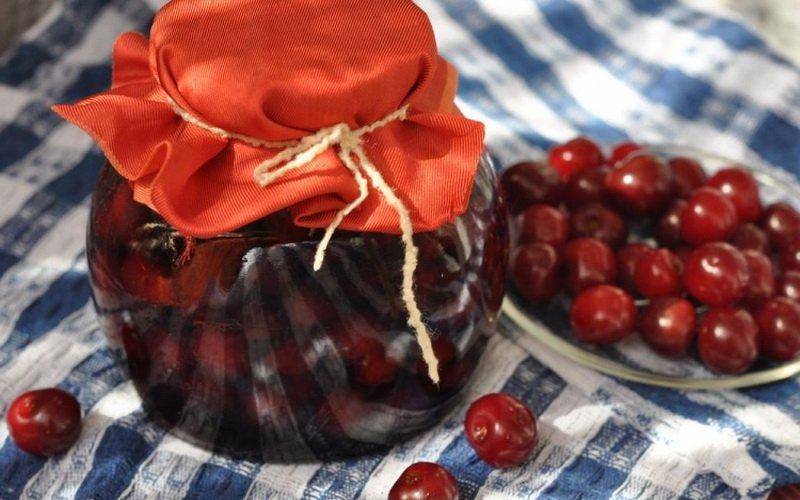 Варенье из черешни и вишни в домашних условиях фото