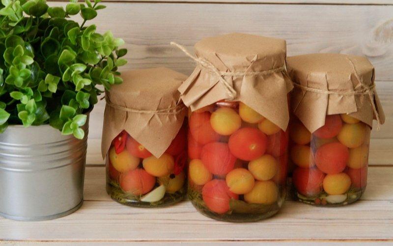 Рецепты помидоров, маринованных на зиму с уксусом